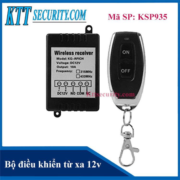 Bộ điều khiển từ xa 12V | KSP935