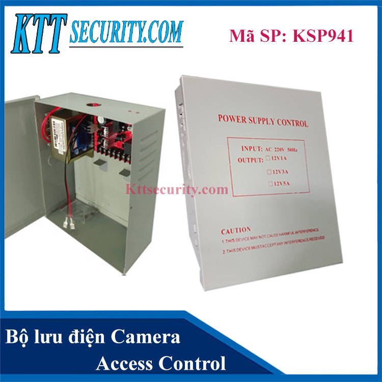 Bộ lưu điện cho Camera | KSP941