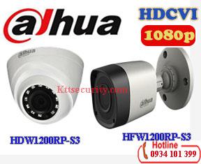 Camera 1080P Dahua HAC-HFW1200RP-S3 và HAC-HDW1200RP-S3