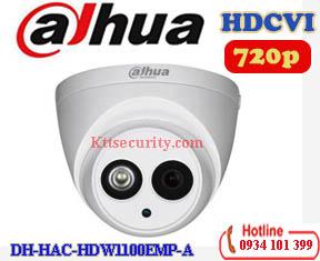 Camera 1MP Dahua DH-HAC-HDW1100EMP-A va HDW1100EMH