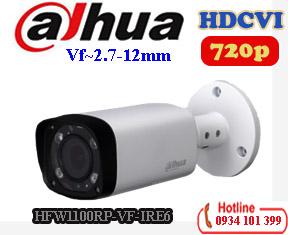 Camera 1mp Dahua DH-HAC-HFW1100RP-VF-IRE6