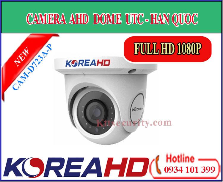 Camera ahd KoreaHD CAM-D723A-P | CAM-D723A-M