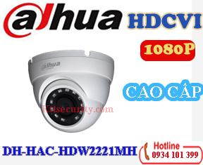 Camera cao cấp 1080P Dahua DH-HAC-HDW2221MH