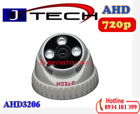 Camera Dome 1MP AHD J-TECH AHD3206