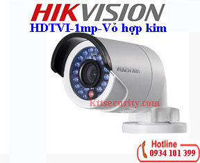Camera HD-TVI Hikvision 1MP DS-2CE16C0T-IR