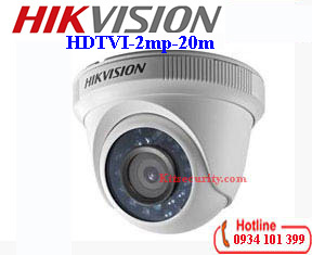 Camera HDTVI Hikvision 2MP DS-2CE56D0T-IRP