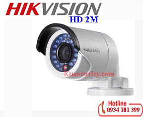 Camera Hikvision 2MP HD-TVI DS-2CE16D0T (IRP/ IR)