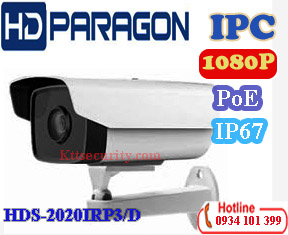 Camera IP 2MP hồng ngoại HDPARAGON HDS-2020IRP3/D