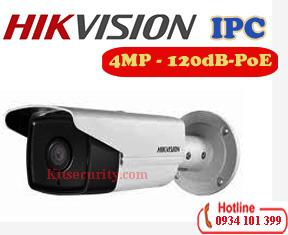 Camera IP 4MP hikvision DS-2CD2T43G0-I8,120dB,SD