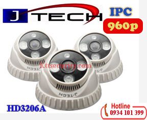 Camera IP Dome 960P J-Tech HD3206A