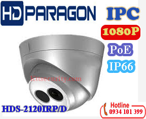 Camera IP hồng ngoại 2MP HDPARAGON HDS-2120IRP/D