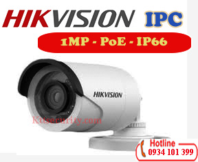 Camera IP PoE 1MP Hikvision DS-2CD1002-I