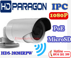 Camera IP Wifi 1080P Hdparagon HDS-2020IRPW