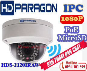 Camera IP Wifi 1080P hdparagon HDS-2120IRAW