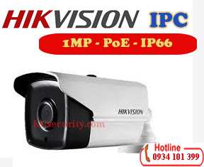 Camera PoE IP 1MP Hikvision DS-2CD1201-I5