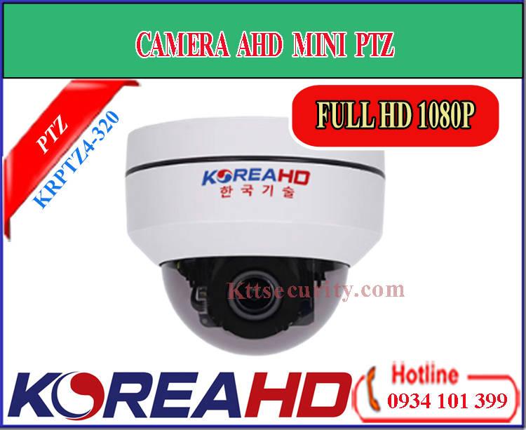 Camera PTZ mini KoreaHD KRPTZ4-320 | DL-W01 (AHD)