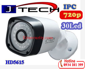 Camera thân IP 1MP J-Tech HD5615