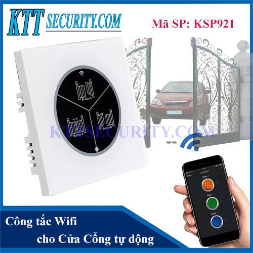 Công tắc thông minh wifi cho cửa Tự động | KSP921