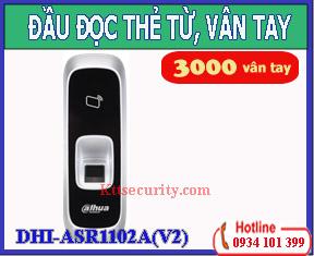 Đầu đọc thẻ từ vân tay DHI-ASR1102A(V2)