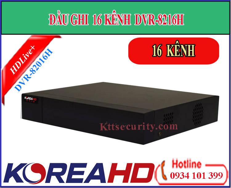 Đầu ghi hình 16 kênh Koreahd DVR-8216H | KR-DVR-8216P (AHD)