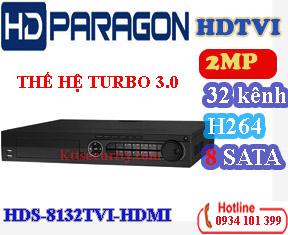 Đầu ghi hình 32 kênh hdparagon HDS-8132TVI-HDMI,8 SATA