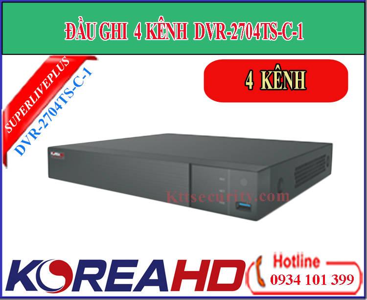 Đầu ghi hình 4 kênh Koreahd DVR-2104TS-CL-1 | DVR-2704TS-C-1 (AHD)