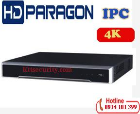 Đầu ghi hình IP 4K HDPARAGON HDS-N7632I-4K,32 kênh