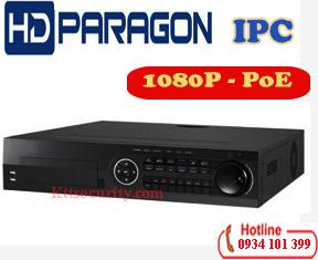 Đầu ghi IP HDparagon HDS-N7716I-POE,16 kênh