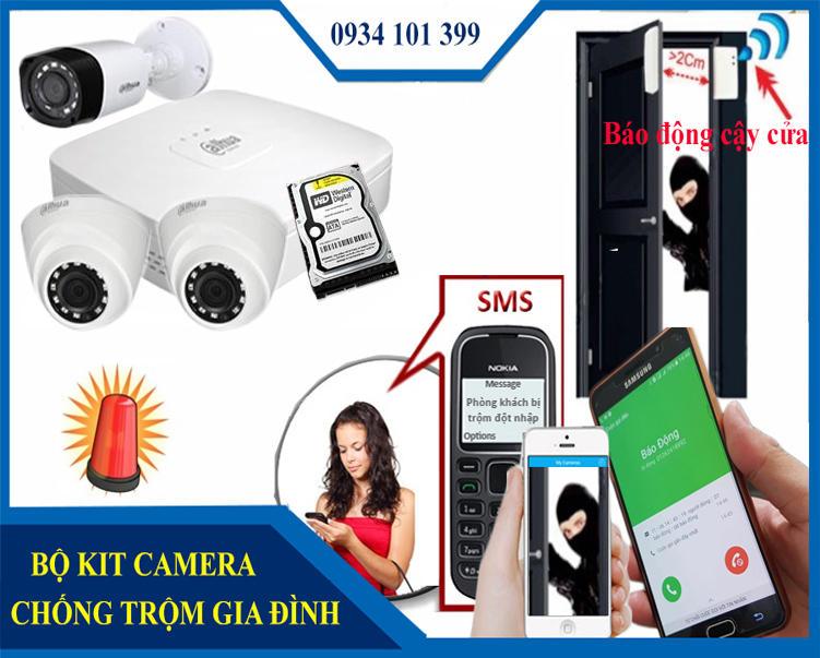 Hệ thống camera chống trộm chuyên nghiệp chống cạy cửa