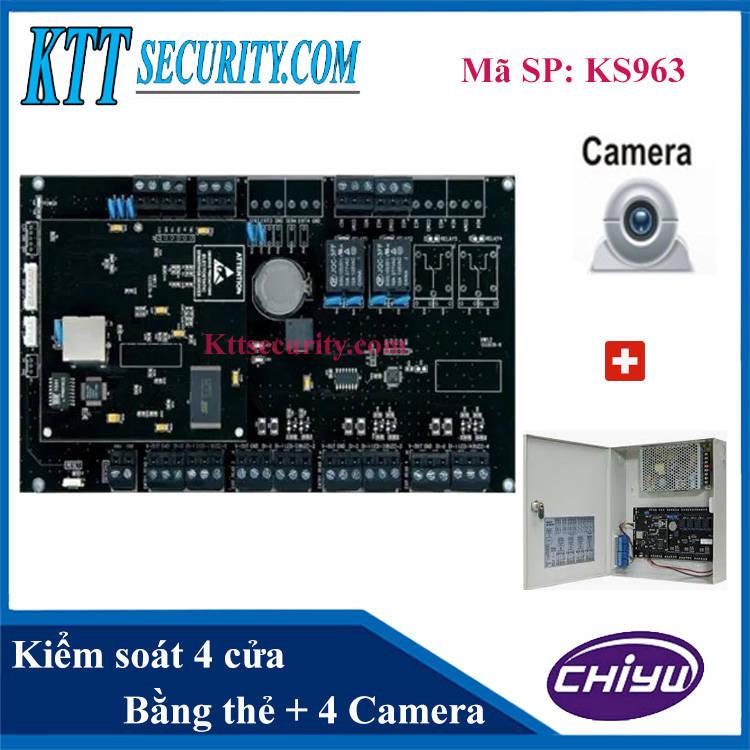 Hệ thống kiểm soát thẻ ra vào toà nhà | KS963