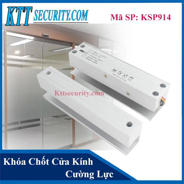 Khóa chốt điện từ Cửa Kính Cường Lực | KSP914