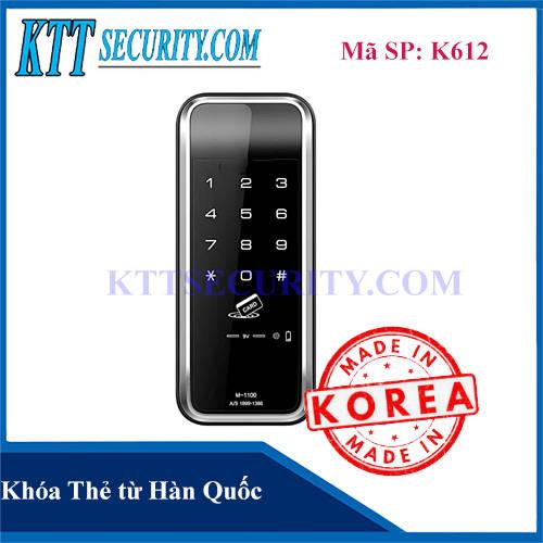 Khoá thẻ từ Hàn Quốc   K612