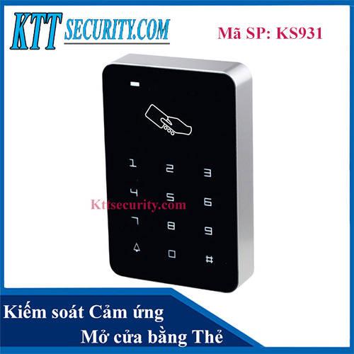 Kiểm soát ra vào bằng Thẻ | KS931