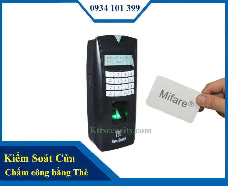 Kiểm soát ra vào bằng thẻ MITA | KS907