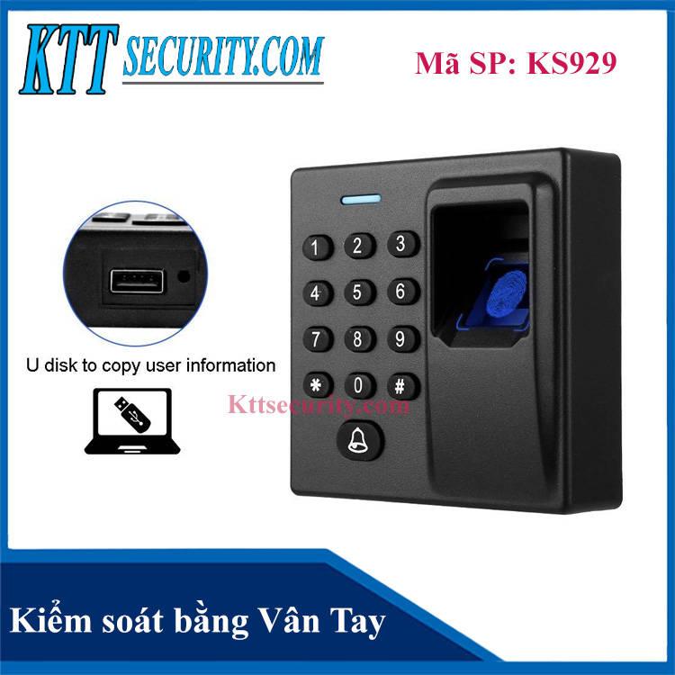 Kiểm soát ra vào bằng Vân tay Mita V2 | KS929