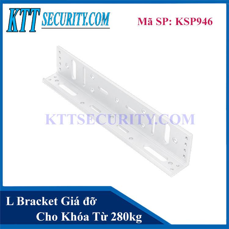 L Bracket Giá đỡ cho Khóa Nam Châm 280 kg | KSP946