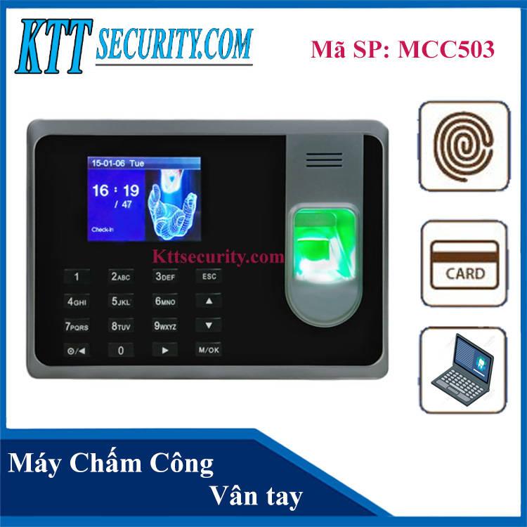 Máy chấm công dấu vân tay | MCC503