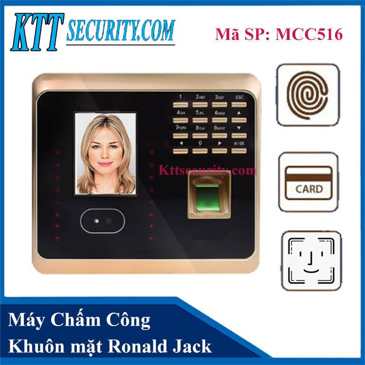 Máy Chấm Công Khuôn Mặt Wifi | MCC516