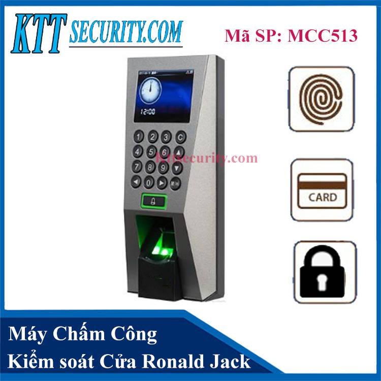 Máy Chấm Công Ronald Jack F18 | MCC513