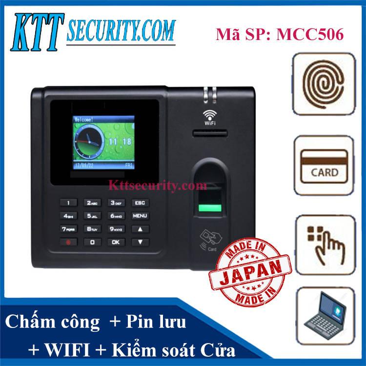 Máy chấm công vân tay wifi Japan | MCC506