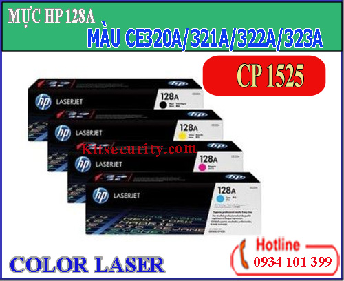 Mực laser màu 128A[CE320A-CE321A-CE322A-CE323A]dùng cho máy CP1525