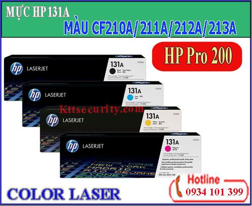 Mực laser màu 131A[CF210A-CF211A-CF212A-CF213A]dùng cho máy HP Pro 200