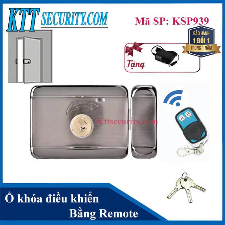 Ổ khóa điều khiển bằng remote | KSP939