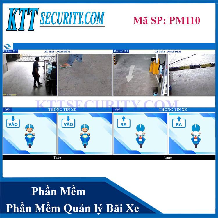 Phần mềm giữ xe thông minh | PM110