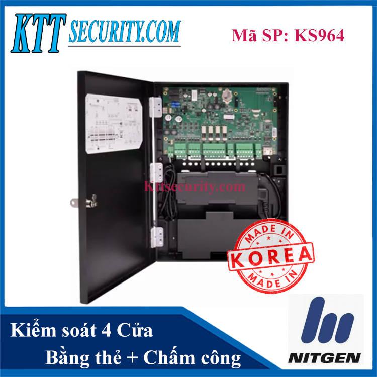 Thiết bị kiểm soát cửa ra vào Nitgen Hàn Quốc | KS964